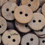 drvena dugmad kokos