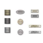 oblici metalnih pločica