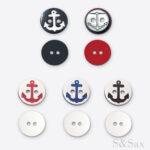 plastična šarena dugmad mornarska