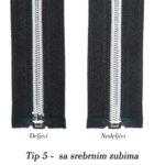 tip 5 sa srebrnim zubima