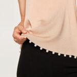 biserna traka na bluzi