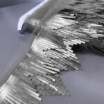srebrne kožne rese