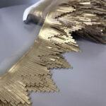 zlatne kožne rese