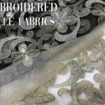 1 EMBROIDERY TULLE COVER