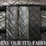 10 SHINY QUILTED FABRICS