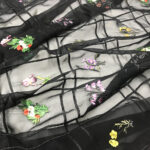 3 EMBROIDERY TULLE