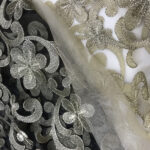 8 EMBROIDERY TULLE