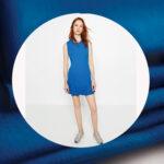 Punto roma sax haljinica plava