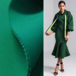zelena skuba duks haljina