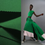 zelena skuba haljina